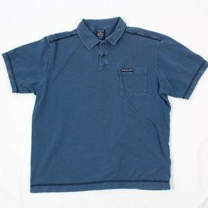 VINTAGE Nautica Jeans Polo Shirt Adult Large Short